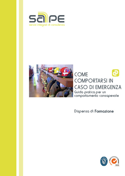 Come Comportarsi In Caso Di Emergenza 1
